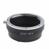 Lente Para Anillo Stepping Canon Eo Sony Nex Montaje Ring