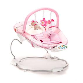 Mecedora Electronica Musica Vibrador Infanti Bebe Juguetes