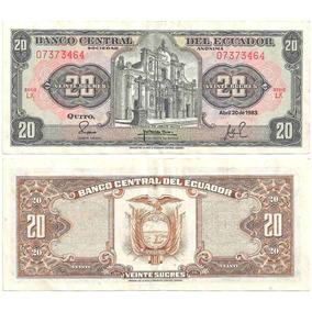 B D M / Ecuador / 20 Sucres / 1983 / P#115b