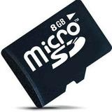 Cartão Memória Micro Sd 8gb Class4 Celular Tablet Camera Mp3