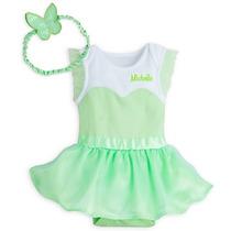 Disfraz Tinker Bell Bebe Niña Disney Store Campanita