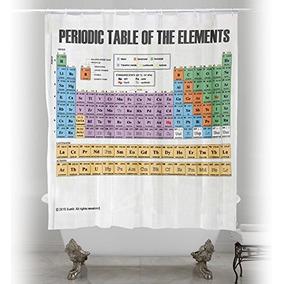 Cortina de ba o tabla periodica de los elementos quimicos en mercado actualizacin tabla peridica de los elementos cortina de d urtaz Images