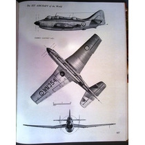 Livro 1956 -the Jet Aircraft Of The World, London