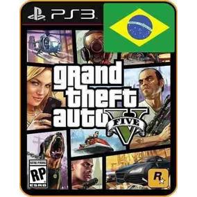 Gta V Grand Theft Auto V Jogos Tiros Ps3 Português Digital
