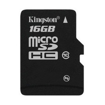 Memoria Micro Sd 16 Gb Sdhc Kingston Para Celulares Camaras