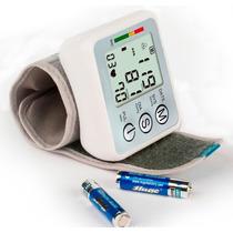Medidor De Pressão Arterial Digital Display Lcd Automatico
