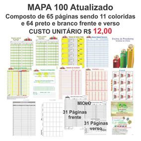 Kit Contendo 30 Mapa Evs Herbalife Atualizado 65 Páginas