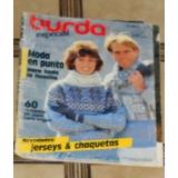 M176 Revista Burda Especial De Septiembre 1991 Moda En Punto