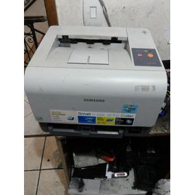 Impressora Laser Color Samsung Clp 300 Usada Não Funciona