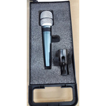Superlux - Microfone C/ Fio De Mão Para Estudio Pro-258