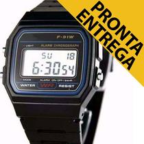 Relógios Masculinos Retrô Vintage Preto Pronta Entrega