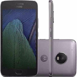Celular Moto G5 Plus Tv Hd Sensor Digital Platinum + Nf