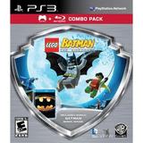 Lego Batman The Videogame Para Ps3 Físico + Película Batman!