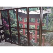 Biombo Imagem Chinesa 5 Folhas Pronto