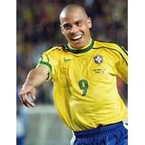 Camisa Seleção Brasileira Ronaldo Da Copa 1998 Da França- 04