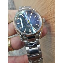 Omega Seamaster Aquaterra Safira 1ano Garant Aut 12x S/juros