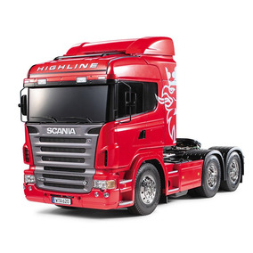 Caminhão Rc Scania R620 6x4 Highline 1/14 Kit Tamiya 56323