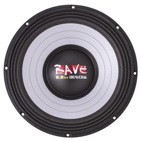 Bravox Rave 15 Woofer 1100wrms Melhor Q Jbl Selenium Tornado