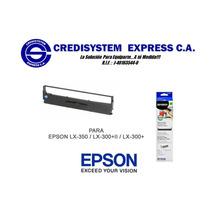 Cinta Epson S015631 Para Impresora Lx350 Lx300