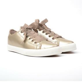 Zapatillas Mujer Sneakers Urbanas Cuero