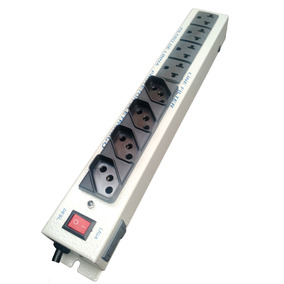 Filtro De Linha Régua C/ 8 Tomadas Mistas 1500watts