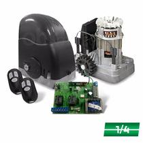 Kit Motor Portão Automatizador Deslizante 1/4 Rcg 450kg