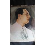 Pintura Foto Del Gral. Perón