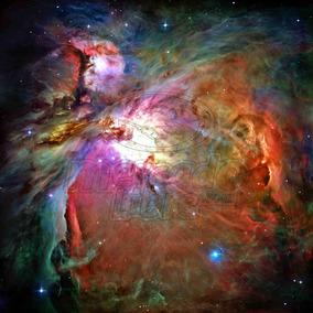 Lienzo Poster Nebulosa De Orión Telescopio Espacial Hubble