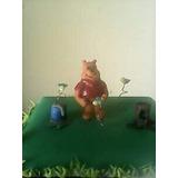 Adorno Para Tortas En Porcelana De Winnie The Pooh