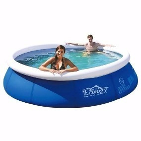 Piscina Inflable Familiar Ecology 2.4 M Mod. 13301