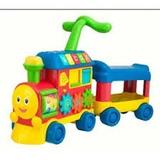Andador Caminador Winfun Pata Pata Tren Sonido 3 En 1 Promo