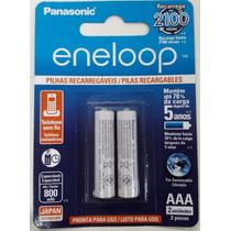 Pilha Recarregavel Aaa Eneloop Panasonic C/2 Nf-e Original