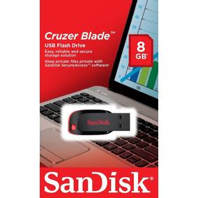 Pen Drive Sandisk 8 Gb Cruzer Blade 100% Original