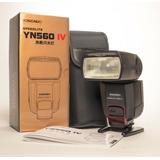 Flash Profesional Yongnuo Yn-560 Iv Nuevo Para Nikon Y Canon