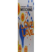 Perfume Chepandchip Moschino I Love Love Edt 100 Ml Lacrado