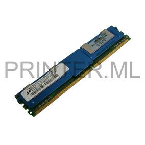 Memória Dimm 512mb Hp Pc2-5300f/667mhz/ddr2 Fbd Cl=5/ 398705