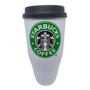 Copo Draft Em Acrílico Starbucks 430ml Com Tampa Bucks