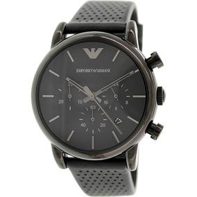 b6275a02caeb Reloj Emporio Armani Para Hombre Ar1737 Con Correa De Cuero