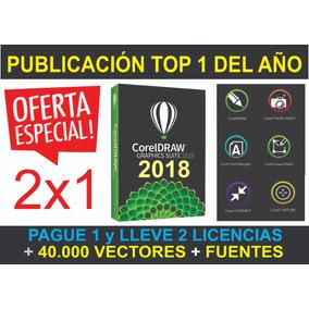 Corel Draw Suit 2018 Nuevo Español Original + Envio Gratis