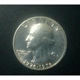 Moneda Americana Cuarto De Dolar