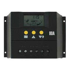 Controlador De Carga Solar 80a Para Painel Solar 12/24v