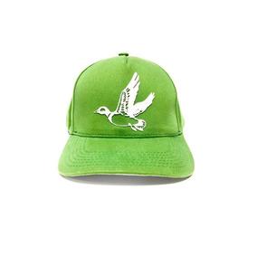 Boné Brooksfield Aba Curva Masculino Logo Em Relevo - Verde d042fdec648