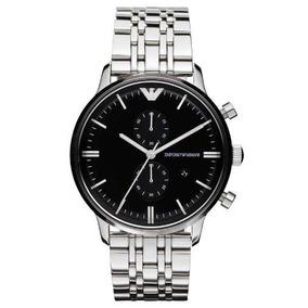 dc26905713e Relógio Emporio Armani Ar0389 Original + Caixa + 3 Anos De G