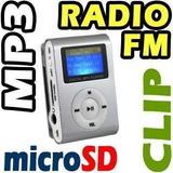Mp3 Shuffle Ranura Micro Sd Bateria Reproductor Radio Svb