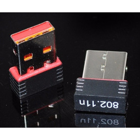 Mini Adaptador Receptor Wireless Usb Wifi 150mbps