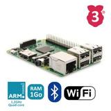 Raspberry Pi 3 Más Potente Con Wifi Y Bluetooth Integrado