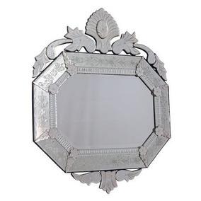 Espelho Decoração Oitavado 120x110cm