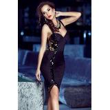 Vestido Mujer Elegante Diseño Dama Exclusivo Boda Fiesta