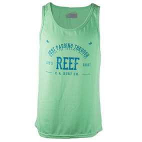 Musculosa Reef Surf Co Hombre Verde