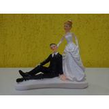 Enfeite Bolo Casamento Resina Noivos Noivinhos Frete Gratis